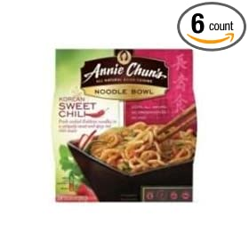 Annie Chuns Korean Sweet Chili Noodle, 7.9 Ounce Bowl -- 6 per case.