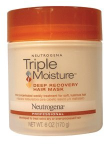 Neutrogena Clean Replenishing Deep Recovery Hair Mask, 6 oz