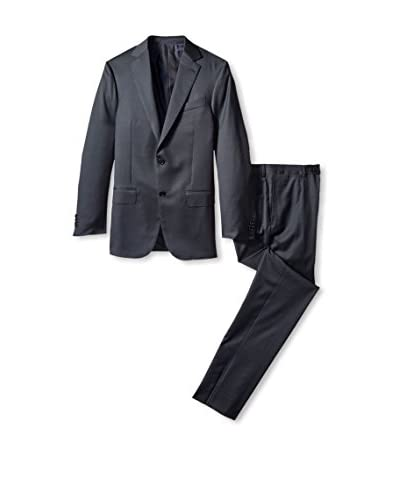 Ermenegildo Zegna Men's Tonal Check Suit