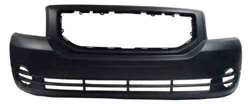 Dodge Caliber 07-08 Front Bumper Cover - New W/o Fog Holes (Caliber Dodge Front Bumper compare prices)