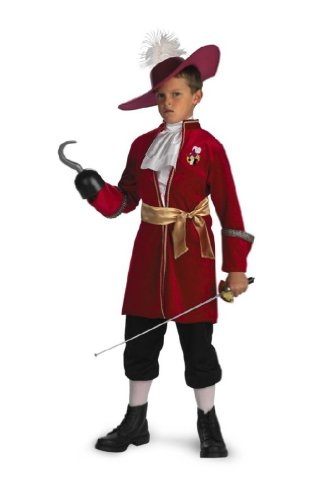 Captain Hook Costume - Child Costume Standard