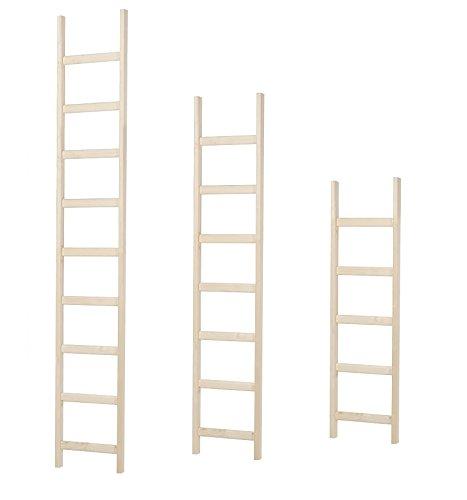 Intercon-Holzleiter-mit-dicken-Holmen-aus-Fichte-Massivholz-in-3-Gren-145-200-250-cm