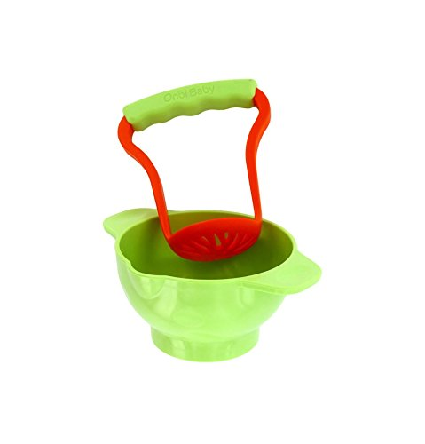 Onbi Baby Crush & Eat Bowl for Making Healthy, Homemade Baby Food - 1