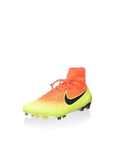 Nike Stollenschuh Magista Obra Fg grau/schwarz