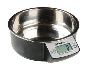 Balance digitale avec bol en acier inoxydable 1,35 L balance maison électronique