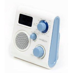 aquabourne duschradio badradio mit lautsprecherfunktion elektronik. Black Bedroom Furniture Sets. Home Design Ideas