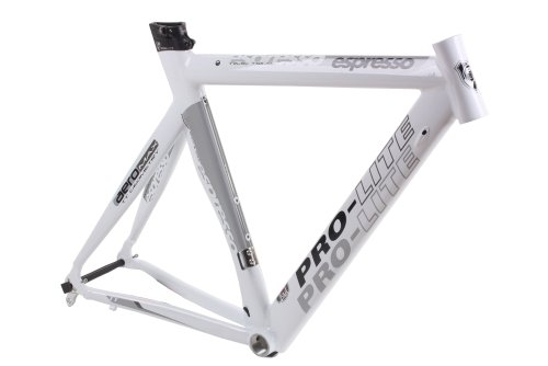 Pro-Lite Espresso Aerobuster Time Trial Frame Gloss White with Seapost 53cm