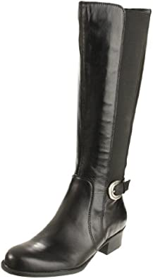 Naturalizer Women's Arness Riding Boot,Black,5 M US