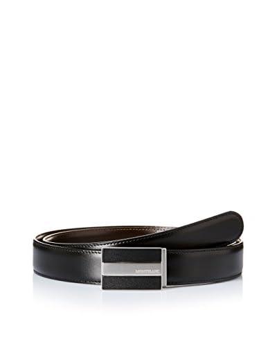 Montblanc Cinturón Reversible Negro