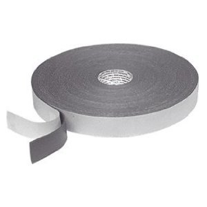 CRL 1//16 x 1//4 Gray Double Sided Glazing Tape