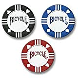 Bicycle Clay Poker Chip Set: 50 Count