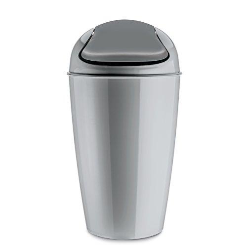 koziol-del-xl-cubo-de-basura-papelera-bidon-de-basura-basurero-cubo-con-tapadera-plastico-gris-30-l-