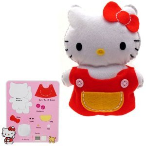 Hello Kitty: Sew a Hello Kitty Kit Doll - 1