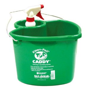 PAIL CLEANING CADDY 4QT, SET, 10-0806 SAN JAMAR BUCKETS