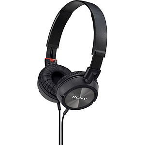 Sony MDR-ZX300 Studio Monitor High Power Magnet Stereo Headphones with Swivel...