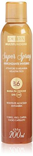 Pupa Multifunzione Super Spray Abbronzante Invisibile SPF6 200 ml spray protezione invisibile