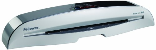 Fellowes 5727702 Saturn SL 125 Home and Office Laminator (Glossy Gray)