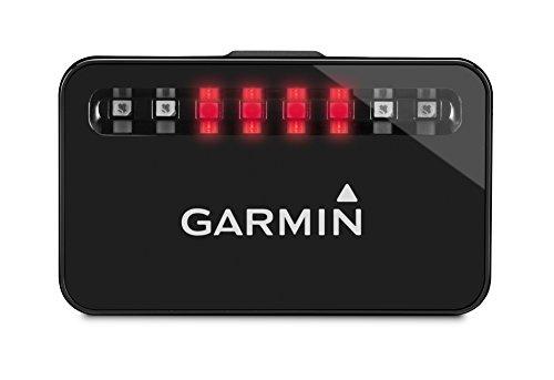 Garmin Accesorios para bicicleta, color negro, luz trasera con radar