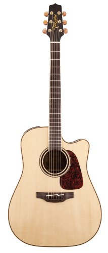 Takamine Pro Series 4 P4Dc Dreadnought Body Acoustic Electric Guitar With Case