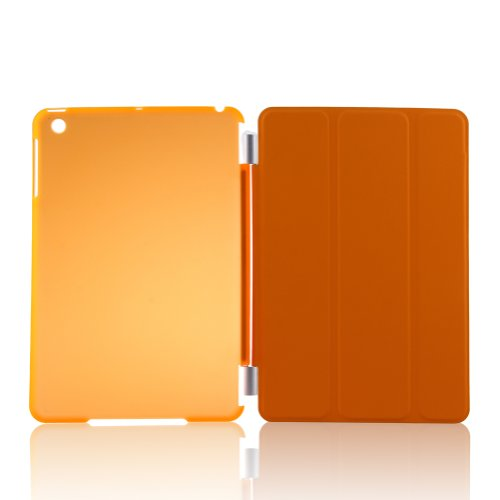 Best Buy! TOPCHANCES Classical Frostinig Dull Polish PU Leather Cover Case for iPad Mini with Auto S...