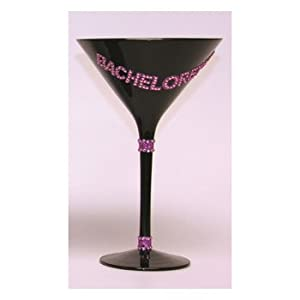 Bachelorette Martini Glass