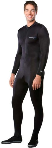 NeoSport Wetsuits Full Body Sports Skins Full Body Sports Skins,All Black,Medium