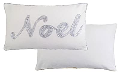 Silver & Cream Noel scatter Cushions