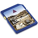 8GB Kingston SDHC Secure Digital Memory Card (Class 6)