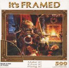 It's Framed 500 Piece Puzzle Christmas Eve