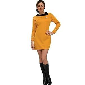 Star Trek Classic Deluxe Dress in Gold Costume