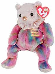 Opal The October Beanie Babies Bear