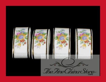 Lady Carlyle Napkin Rings Set of 4