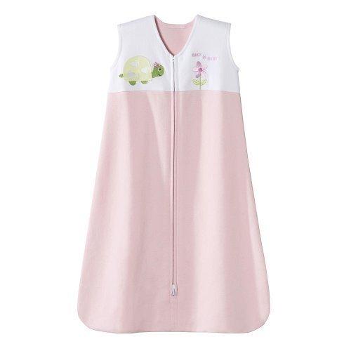 HALO SleepSack Wearable Blanket 100% Cotton (Small, Pink Turtle)