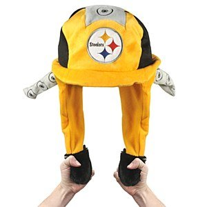 Pittsburgh Steelers Pump Action Mascot Dangle Hat at Amazon.com