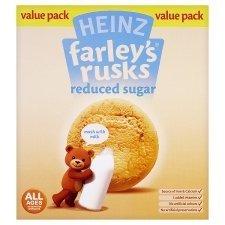 Farleys Rusks 4 Month Reduced Sugar Original 300G X 4 Pack front-661210