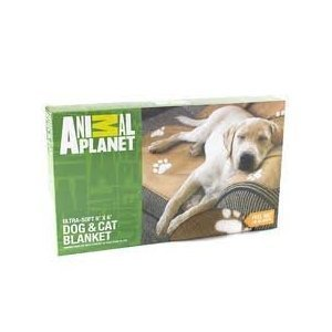 Animal Planet Ultra-Soft Dog & Cat Blanket - Brown/Tan (Color May Vary) front-486072