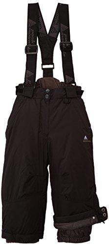 Peak Mountain Femix/a - Pantalone da sci con bretelle, per bambina, nero (nero), FR : 3 anni (Taglia del produttore : 3)