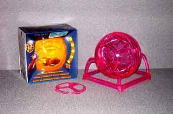 (Price/1)Pet Exercise Plastic Hamster Ball W/stand