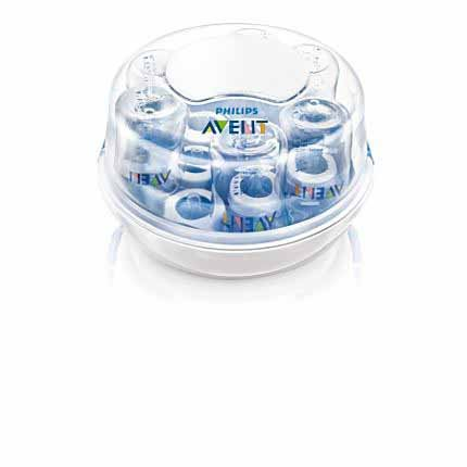 AVENT® 552 SCF271/07 Microwave Steam SterilizerAVENT 552 SCF271/07 Microwave Steam Sterilizer