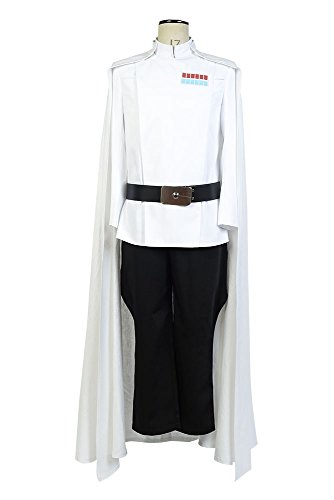 Rogue One Cosplay Costume A Star Wars Story Top Director Krennic Officer Uniform