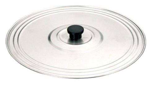 Ibili 715737 Couvercle à usage multiple 37 cm en Inox (sans trous)