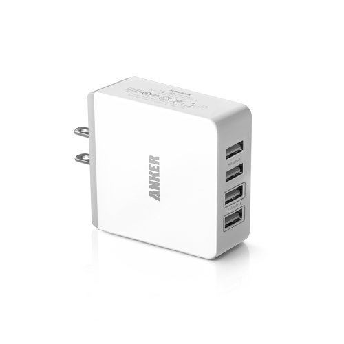 Anker 36W 4ポート USB急速充電器 iPhone5S/5C/iPad5/iPad Air/Xepria/Galaxyなどに対応