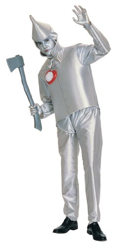 Wizard of Oz tm Tin Man tm Adult Fancy Dress Costume