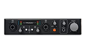 Interfaz de Audio M-Audio M-Track Plus MKII USB 2.0 de 2 canales con entradas Wave
