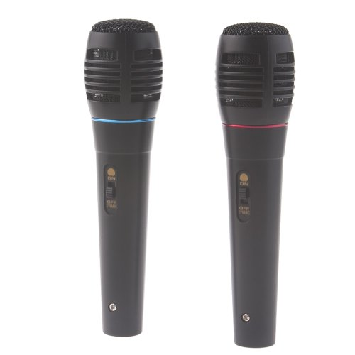 Neewer® Universal 5-In-1 Wired Karaoke Microphone Set For Ps3 Ps2 Pc Wii Xbox 360