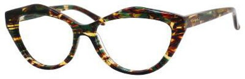 Yves Saint Laurent Yves Saint Laurent 6370 Eyeglasses-0PM3 Green Havana-53mm