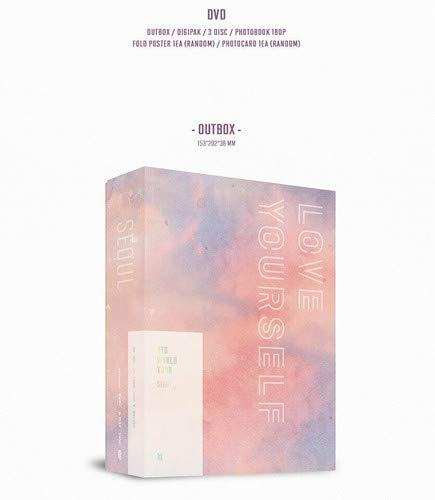 DVD : Love Yourself Seoul: Bts World Tour Seoul (Photo Book, Poster, Photos, Asia - Import, NTSC Region 1,3)