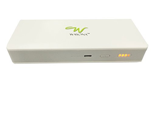 Wayona K8 10000mAH Portable Power Bank (White)