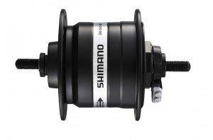 VR-Nabendynamo Shimano DH3N31BLG 100mm, 32 Loch, schwarz, SNSP 2091610300