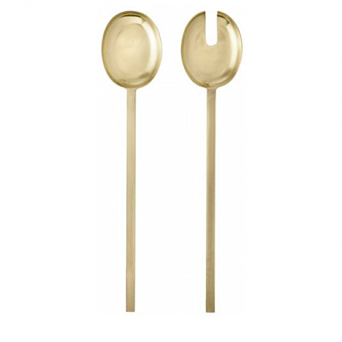 Ferm Living Brass Salad Serves